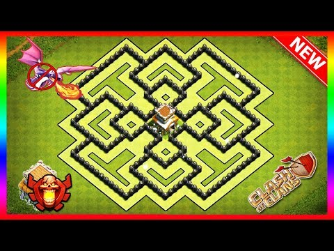 Best Town Hall 8 Farming Base With Replays | COC TH8 Defance Base | Clash Of Clans [New Updated]