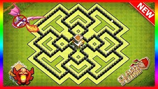Best Town Hall 8 Farming Base With Replays COC TH8 Defance Base Clash Of Clans New Updated