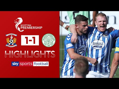 Chris Burke penalty sees Celtic drop points!   Kilmarnock 1-1 Celtic   Scottish Premiership