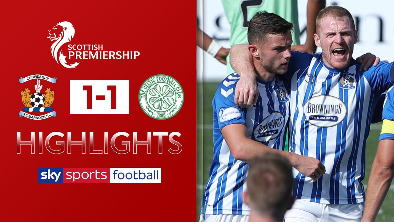 Chris Burke penalty sees Celtic drop points! | Kilmarnock 1-1 Celtic | Scottish Premiership