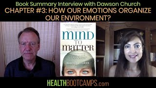 Book Summary Interview with Dawson Church - Chapter #3: How Our Emotions Organize Our Environment