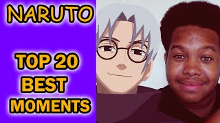 Naruto Top 20 BEST Moments! [Anime Top Moments #1]