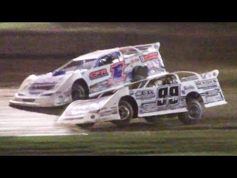 Super Late Model Heat Three   Eriez Speedway   9-22-18