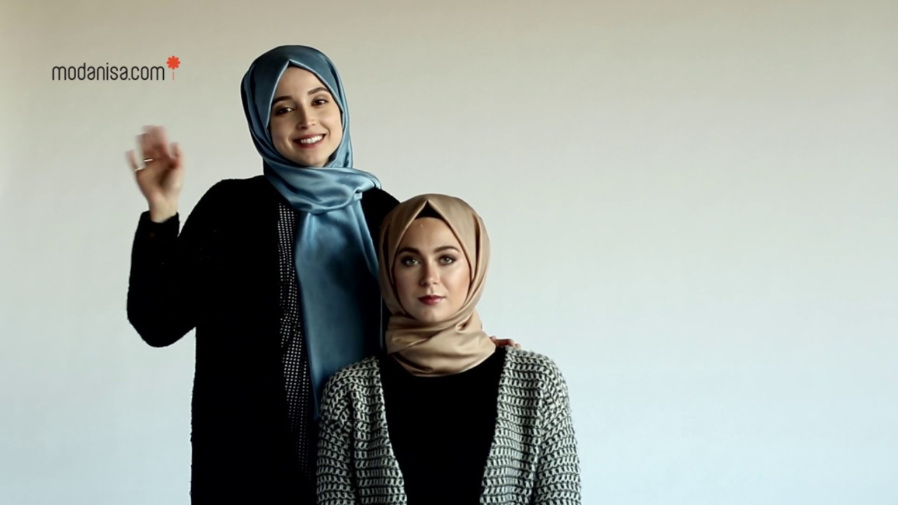Rabia Karaca ile Şal Bağlama | İç Başörtü İle Topuz Yapımı image