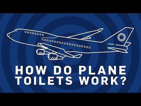 How Do Plane Toilets Work? | Brit Lab