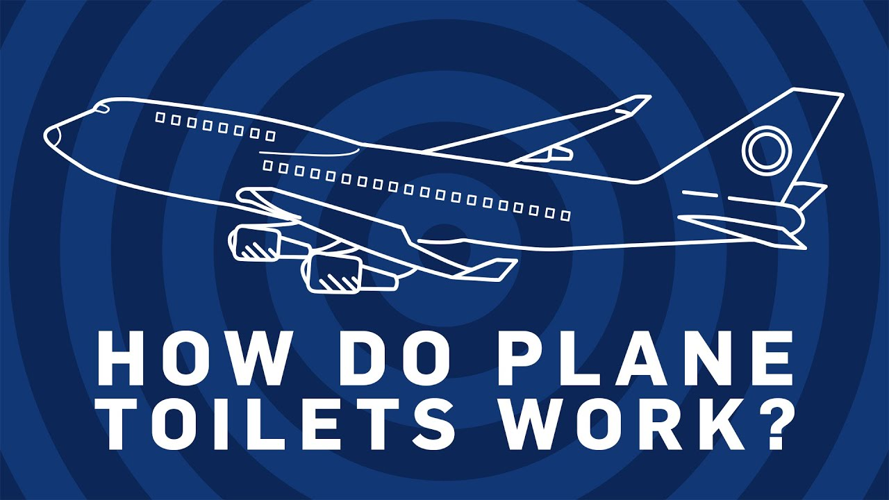How Does A Toilet Work : How do plane toilets work brit lab youtube