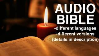 Audio Bible - Albanian, Shqip, interconfessional, Dramatized version.