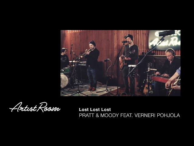 Pratt & Moody feat. Verneri Pohjola - Lost Lost Lost - Genelec Artist Room