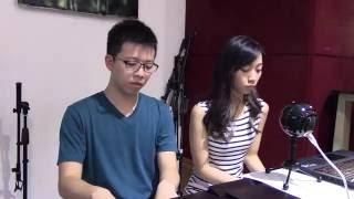 青春常駐 - 張敬軒 Hins Cheung (cover by Matthew and Stephanie Kwan)