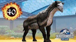 Уртинотериум 40 прокачка Urtinotherium Jurassic World The Game