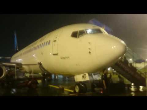Sriwijaya Air Yogyakarta-Jakarta-Makassar-Sorong