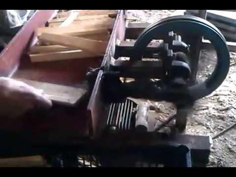 Kindling Machine For Fire Starting Sticks Youtube