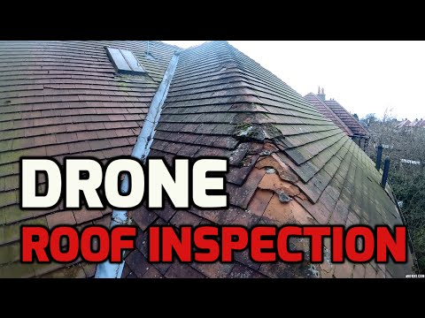 Roof Inspection using a DJI Phantom 2 Drone + GoPro Hero 3