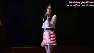 [Engsub/Vietsub] A Little Happiness (Hebe Tian) - YoonA @ Fan Meeting In Beijing