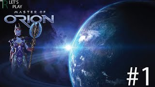 Master of Orion Let's Play - Revenge of Antares (Elerians) - #1!