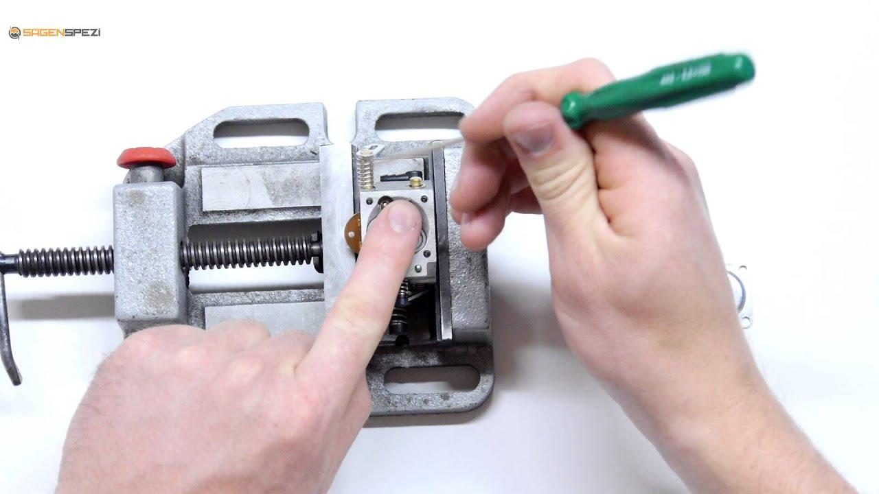 Stihl MS 170 180 Vergaser mit Kompensatoranschluss baugleich Walbro Los