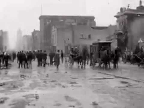 San Francisco 1906 Earthquake & Fire Aftermath, Part 1