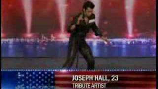 American Got Talent S3 Elvis Presley