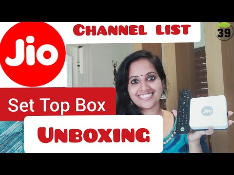 Jio Set Top Box Unboxing || Malayalam || Jio STB Channel List || Jio Gigafiber || Jio IP TV