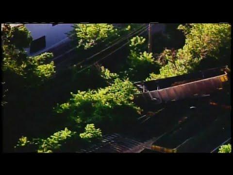 Train derails above busy West Allis street