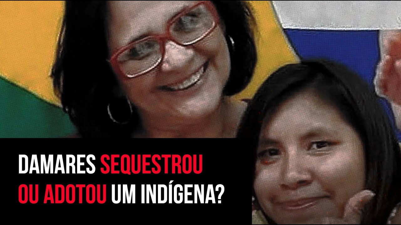 Damares Alves sequestrou uma criança indígena?