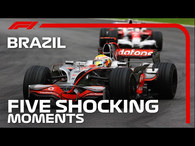 Five Shocking Moments from the Brazilian Grand Prix