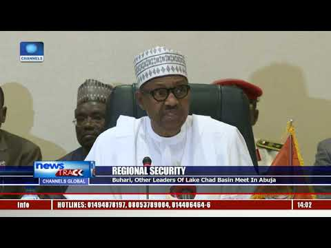 Buhari, Other Leaders Of Lake Chad Basin Meet In Abuja