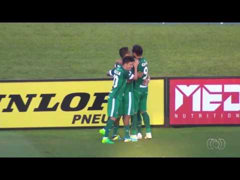 Gols de Vila Nova 0x3 Goiás - Imagens: Tv Anhanguera (GLOBO)