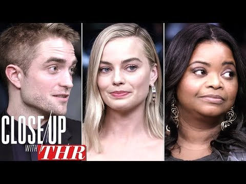 Full LIVE Roundtable: Margot Robbie, Robert Pattinson, Bryan Cranston  Close Up With THR