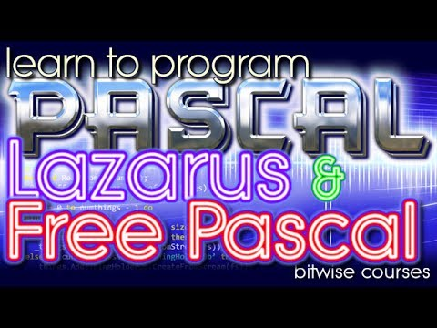 Lazarus and Free Pascal  - your first program
