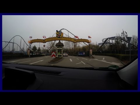 ANFAHRT | Driving to Europa Park at a foggy openingday for season 2016