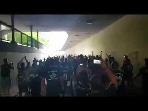 Πορεία οπαδών του ΠΑΟΚ για το γήπεδο της Βασιλείας