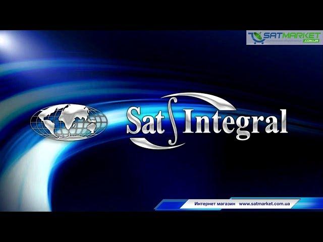 Видео обзор Sat-Integral 5052, настройка Т2, тест YouTube IPTV Megogo