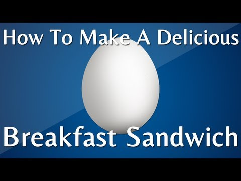 How To Make A Delicious Breakfast Sandwich: Vegetarian