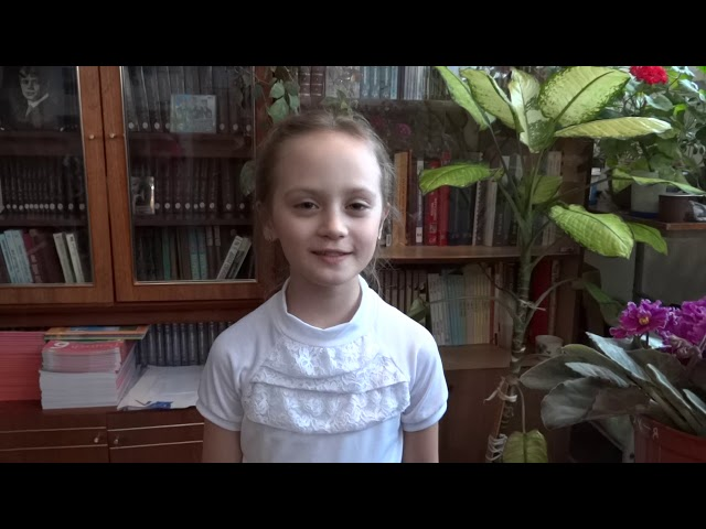Изображение предпросмотра прочтения – МаргаритаНеделько читает произведение «Весна, весна! как воздух чист!..» Е.А.Баратынского