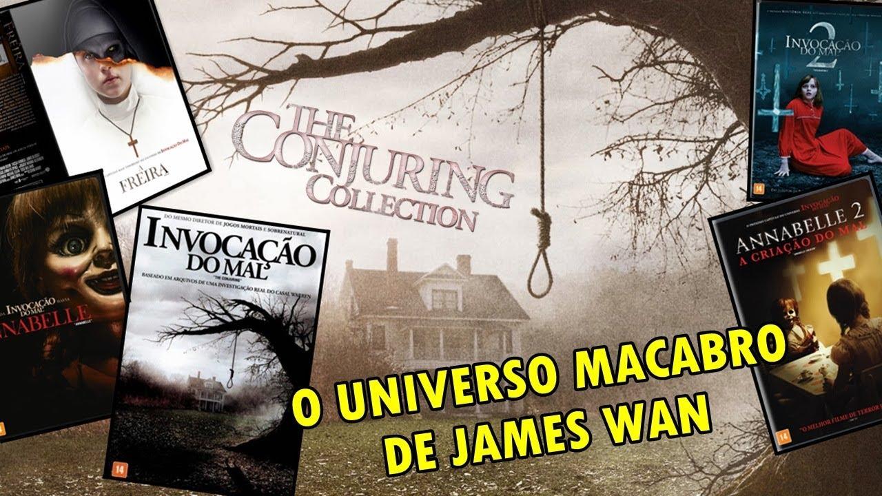 [DVD] COLEÇÃO UNIVERSO DE INVOCAÇÃO DO MAL - WARNER