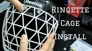 How to Install a Ringette Cage