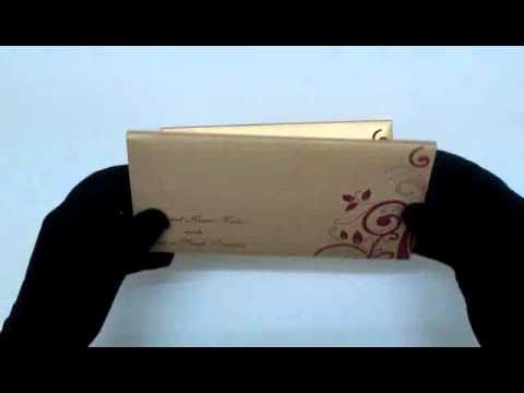 B-002 | Indian Wedding Cards Online | www.theweddingcardsonline.com