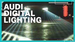 Audi's latest lighting technology