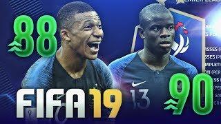 LES NOTES DES 23 FRANÇAIS CHAMPIONS DU MONDE SUR FIFA 19 !?