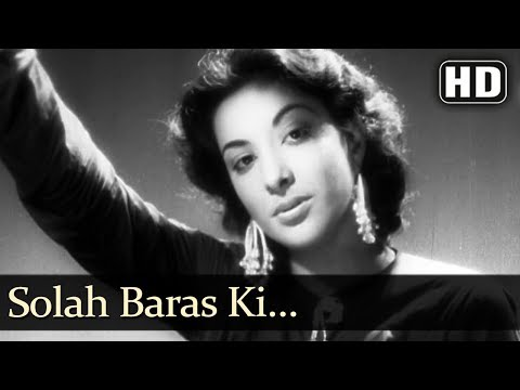 Nargis Popular Song - Solah Baras Ki Bhayee Umariya - Aag (1948) - Raj Kapoor - Superhit Hindi Song