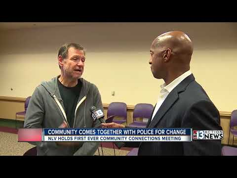 Residents meet with North Las Vegas police