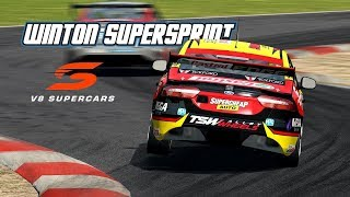 RF2 V8 Supercars 2018 R7 Winton SuperSprint