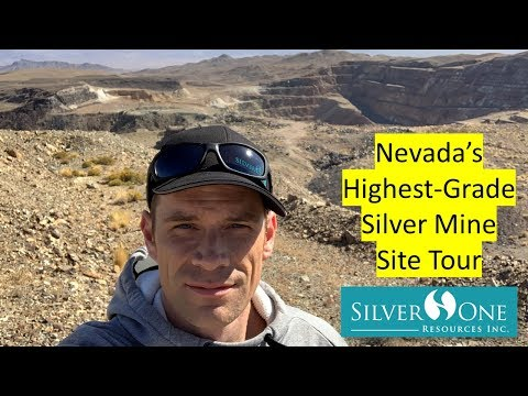 Nevada's Highest-Grade Silver Mine Site Tour (Silver One Resources)