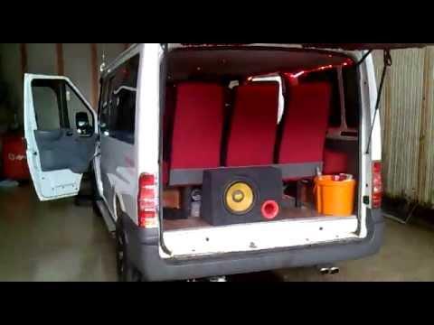 modifiye ford transit 0074 - youtube