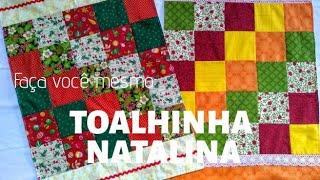 Toalhinha Natalina