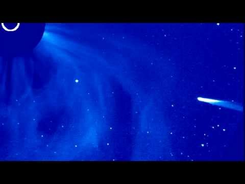 Comet ISON enters the field of view of Solar and Heliospheric Observatory (SOHO)