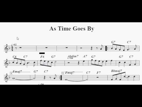 As Time Goes By PDF and MP3