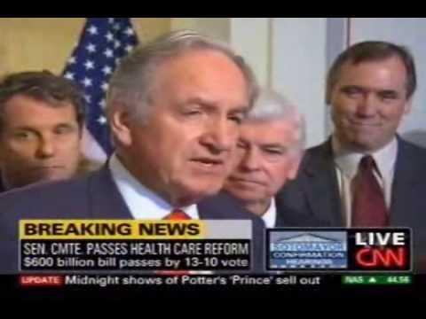 Senator Harkin on HELP Committee Passing Health Care