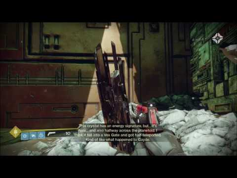 Destiny 2 Ghost Scan - Nessus, The Cistern